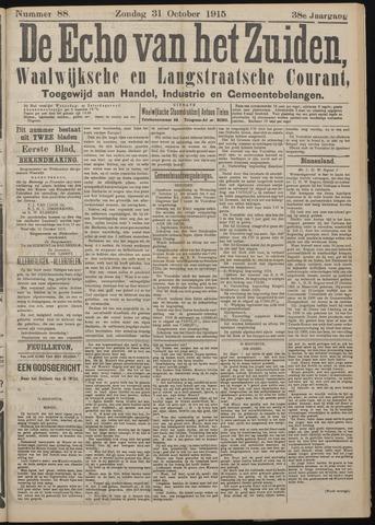 Echo van het Zuiden 1915-10-31