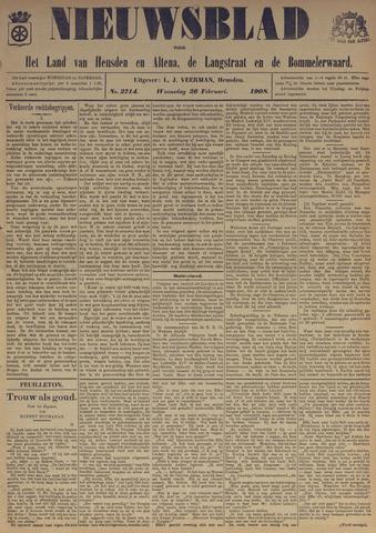 Nieuwsblad het land van Heusden en Altena de Langstraat en de Bommelerwaard 1908-02-26