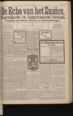 Echo van het Zuiden 1932-08-27