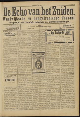 Echo van het Zuiden 1923-06-23