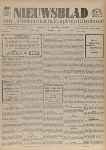Nieuwsblad het land van Heusden en Altena de Langstraat en de Bommelerwaard 1919-05-24