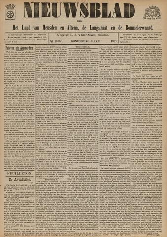 Nieuwsblad het land van Heusden en Altena de Langstraat en de Bommelerwaard 1901-01-03