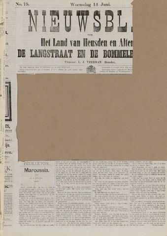 Nieuwsblad het land van Heusden en Altena de Langstraat en de Bommelerwaard 1882-06-14