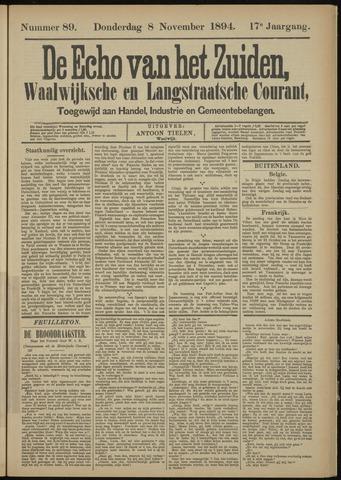 Echo van het Zuiden 1894-11-08