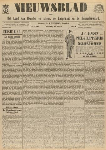 Nieuwsblad het land van Heusden en Altena de Langstraat en de Bommelerwaard 1913-03-22
