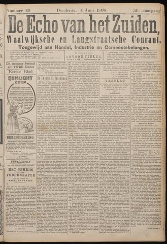 Echo van het Zuiden 1908-06-04