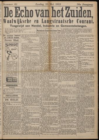 Echo van het Zuiden 1913-05-25