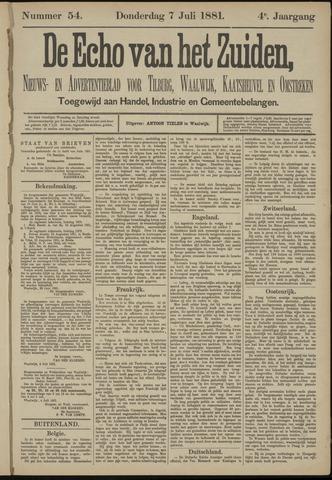 Echo van het Zuiden 1881-07-07