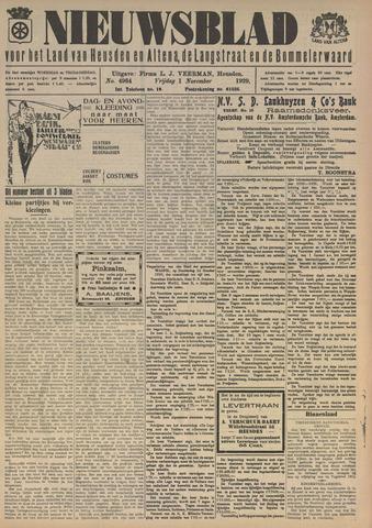 Nieuwsblad het land van Heusden en Altena de Langstraat en de Bommelerwaard 1929-11-01