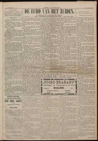 Echo van het Zuiden 1920-08-12