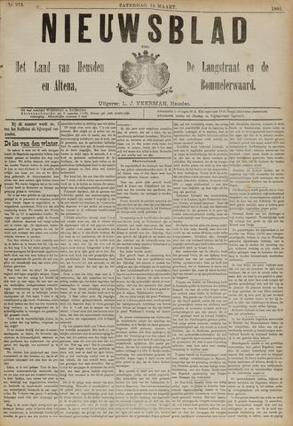 Nieuwsblad het land van Heusden en Altena de Langstraat en de Bommelerwaard 1891-03-14