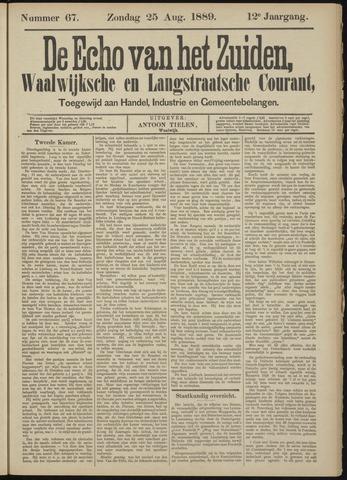 Echo van het Zuiden 1889-08-25