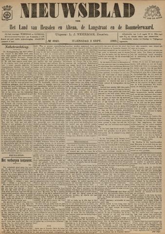 Nieuwsblad het land van Heusden en Altena de Langstraat en de Bommelerwaard 1902-09-03