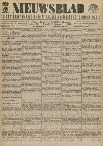 Nieuwsblad het land van Heusden en Altena de Langstraat en de Bommelerwaard 1924-09-17