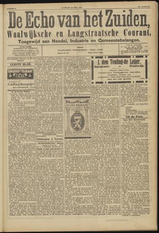 Echo van het Zuiden 1923-04-28