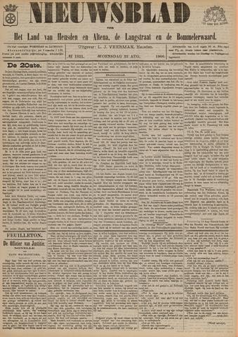 Nieuwsblad het land van Heusden en Altena de Langstraat en de Bommelerwaard 1900-08-22
