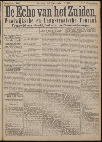 Echo van het Zuiden 1905-12-24