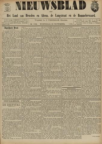 Nieuwsblad het land van Heusden en Altena de Langstraat en de Bommelerwaard 1892-11-23
