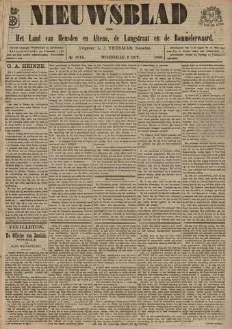 Nieuwsblad het land van Heusden en Altena de Langstraat en de Bommelerwaard 1900-10-03
