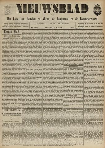 Nieuwsblad het land van Heusden en Altena de Langstraat en de Bommelerwaard 1893-07-01