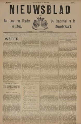 Nieuwsblad het land van Heusden en Altena de Langstraat en de Bommelerwaard 1888-03-31