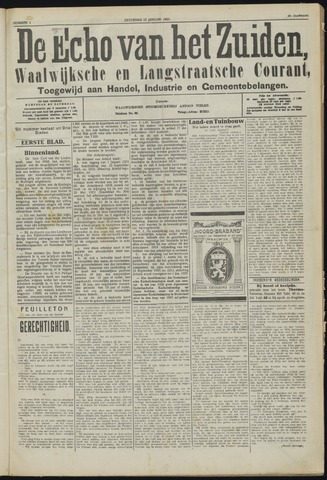 Echo van het Zuiden 1924-01-12