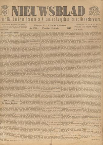 Nieuwsblad het land van Heusden en Altena de Langstraat en de Bommelerwaard 1917-10-10