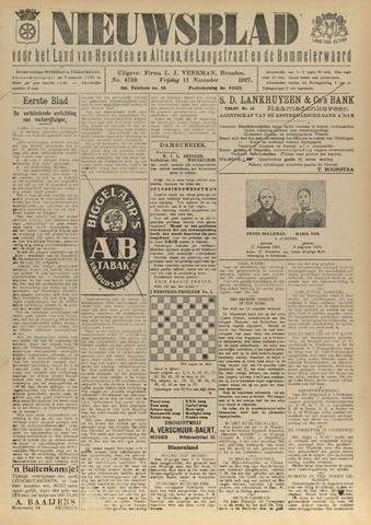 Nieuwsblad het land van Heusden en Altena de Langstraat en de Bommelerwaard 1927-11-11