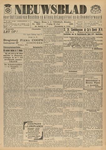 Nieuwsblad het land van Heusden en Altena de Langstraat en de Bommelerwaard 1930-06-20