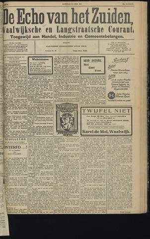 Echo van het Zuiden 1931-04-25