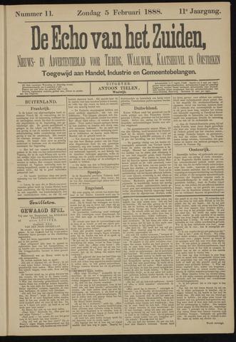 Echo van het Zuiden 1888-02-05