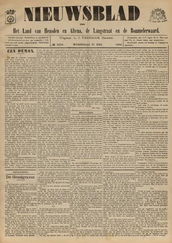 Nieuwsblad het land van Heusden en Altena de Langstraat en de Bommelerwaard 1903-05-27