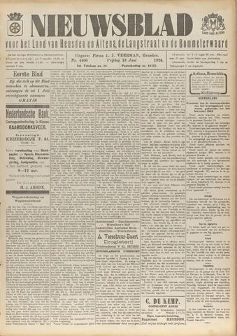 Nieuwsblad het land van Heusden en Altena de Langstraat en de Bommelerwaard 1924-06-13