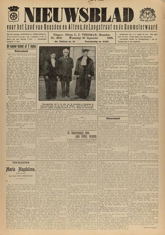Nieuwsblad het land van Heusden en Altena de Langstraat en de Bommelerwaard 1928-09-26