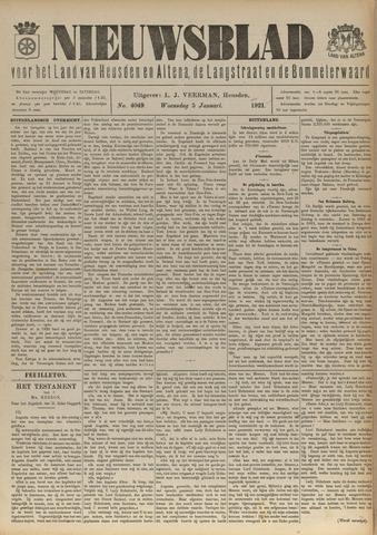 Nieuwsblad het land van Heusden en Altena de Langstraat en de Bommelerwaard 1921-01-05