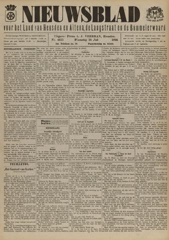 Nieuwsblad het land van Heusden en Altena de Langstraat en de Bommelerwaard 1924-07-16