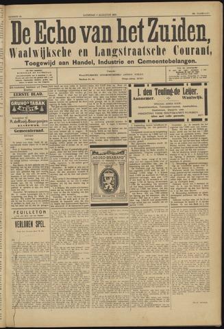 Echo van het Zuiden 1923-08-04