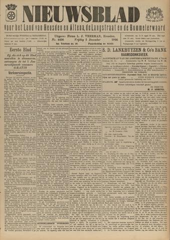 Nieuwsblad het land van Heusden en Altena de Langstraat en de Bommelerwaard 1924-12-05