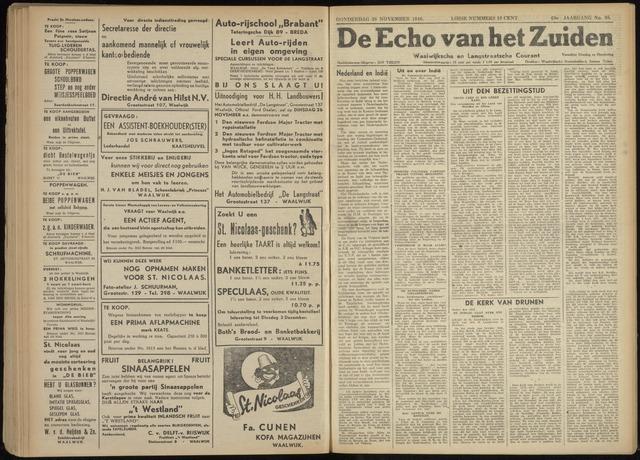 Echo van het Zuiden 1946-11-28