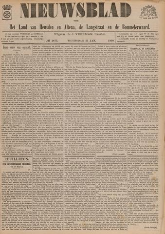 Nieuwsblad het land van Heusden en Altena de Langstraat en de Bommelerwaard 1900-01-31