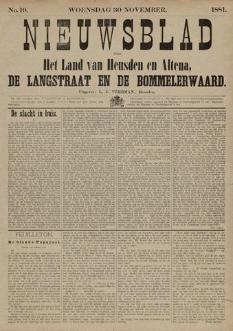 Nieuwsblad het land van Heusden en Altena de Langstraat en de Bommelerwaard 1881-11-30