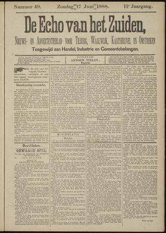 Echo van het Zuiden 1888-06-17