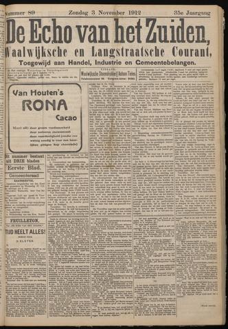 Echo van het Zuiden 1912-11-03