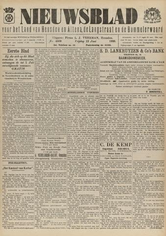 Nieuwsblad het land van Heusden en Altena de Langstraat en de Bommelerwaard 1925-06-12