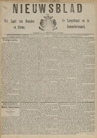 Nieuwsblad het land van Heusden en Altena de Langstraat en de Bommelerwaard 1892-01-13