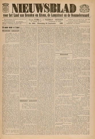 Nieuwsblad het land van Heusden en Altena de Langstraat en de Bommelerwaard 1936-09-30