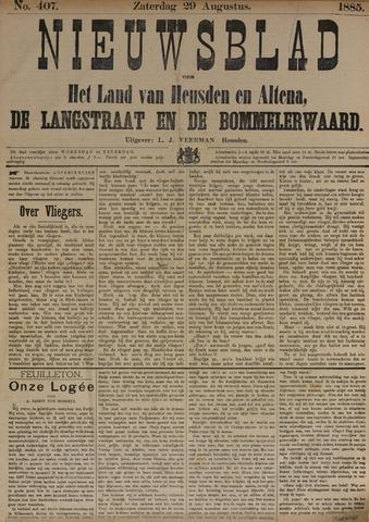 Nieuwsblad het land van Heusden en Altena de Langstraat en de Bommelerwaard 1885-08-29