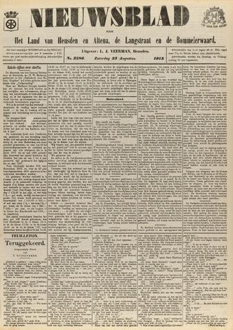 Nieuwsblad het land van Heusden en Altena de Langstraat en de Bommelerwaard 1913-08-23