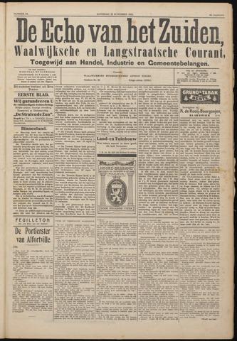 Echo van het Zuiden 1922-11-25
