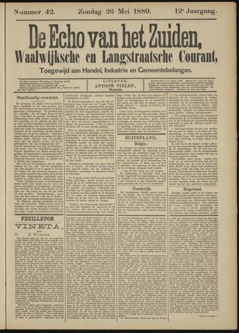 Echo van het Zuiden 1889-05-26